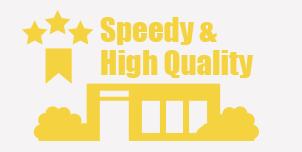 スピード・品質が段違い